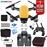 PC Hardware : DJI SPARK Fly More Drone Combo Sunrise Yellow - CP.PT.000900 Triple Battery Bundle