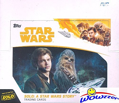 (2018 Topps SOLO: A Star Wars Story MASSIVE Factory Sealed 24 Pack Retail Box with 144 Cards! Includes 24 Amazing Parallels & 24 Awesome Insert Cards! Look for Autographs & Sketch Cards! WOWZZER!)