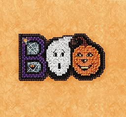 Mill Hill Counted Glass Bead Kit w/ Magnet Set of 3 ~ AUTUMN HARVEST #18172