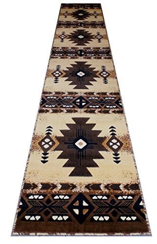 Concord Global Trading South West Native American Long Runner Area Rug Design C318 Berber (32 Inch X 15 Feet 6 Inch) from Concord Global Trading