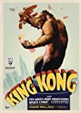 King Kong Movie Poster (27 x 40 Inches - 69cm x 102cm) (1933) Style D -(Fay Wray)(Bruce Cabot)(Robert Armstrong)(Frank Reicher)(Noble Johnson)(Sam Hardy) by MG Poster