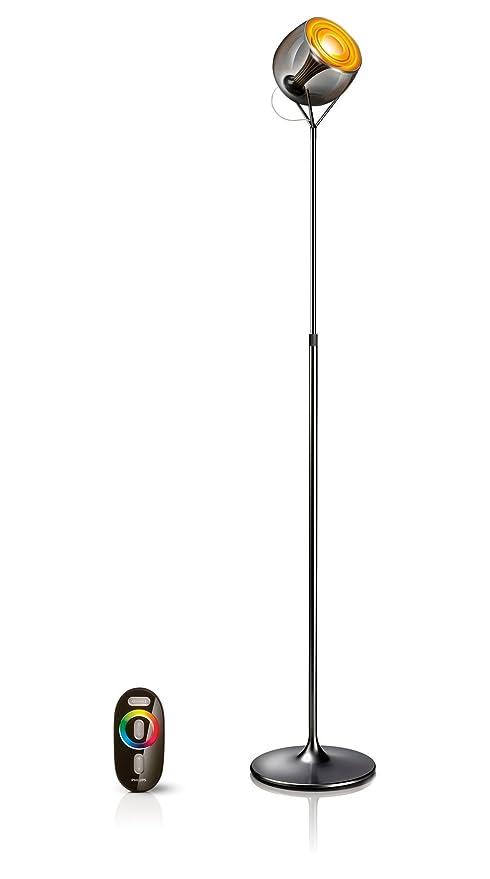 Philips LivingColors Lámpara de pie alta negra 6914830PH ...
