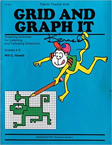 Counting Number worksheets graphing coordinates pictures worksheets : Grid and Graph It (Grades 4-6): Will C. Howell: 9780822435112 ...
