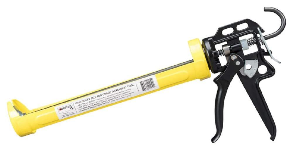 Cartridge Capacity 14:1 Thrust Ratio Inc. 29 oz Dripless SI500 Contractor Grade Heavy Duty Caulking Gun