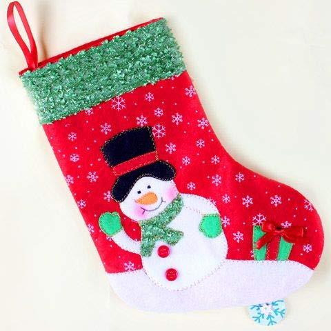 VHVCX Adornos De Navidad Decoración De Navidad Calcetines Calcetines Bolsa De Regalo De Santa Bolsa Caramelo, 6: Amazon.es: Hogar