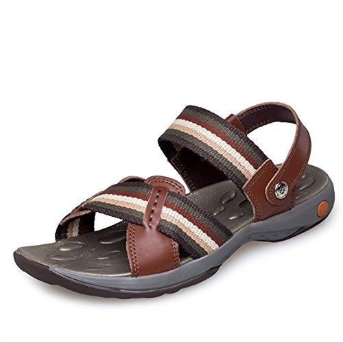 Traspiranti Scarpe Marrone 23 pantofole Sandali EU Da Dimensione Aperta da All'aria 28 Casual Marrone 42 Colore Wagsiyi Sport CM Scarpe Uomo 0 5 Antiscivolo spiaggia Sandali Pdwx704