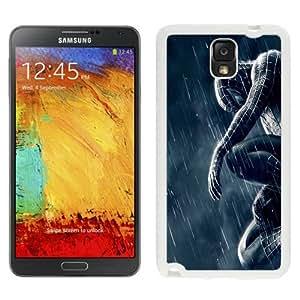 NEW Unique Custom Designed Samsung Galaxy Note 3 N900A N900V N900P N900T Phone Case With Spiderman 3 Rain_White Phone Case