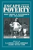 img - for Escape from Poverty: What Makes a Difference for Children? book / textbook / text book