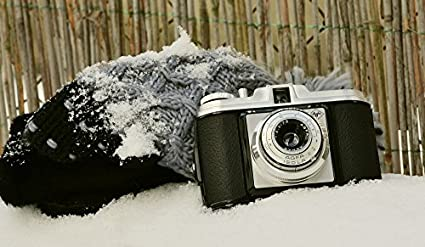 Amazon com: Home Comforts Laminated Poster Winter Old Camera Agfa