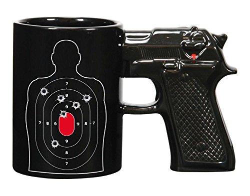 Gun Coffee Mug - Target Practice 15oz
