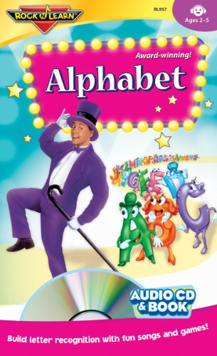 Alphabet Audio CD and Book by Rock 'N (Learn Alphabet Cd)