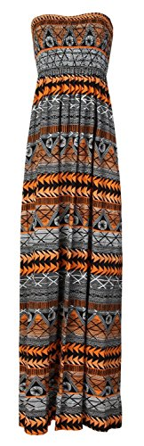 Forever Stripe Tie Orange Sheering Dress Maxi Leopard Plus Dye Floral Womens Aztec Print Size rIXqTrp