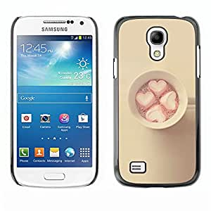 All Phone Most Case / Hard PC Metal piece Shell Slim Cover Protective Case for Samsung Galaxy S4 Mini i9190 MINI VERSION! marshmallow minimalist yellow pink
