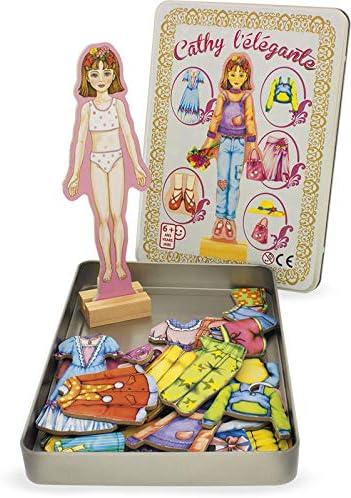 "Ulysse 6007"" Magnetic Figure Cathy Spielzeug"
