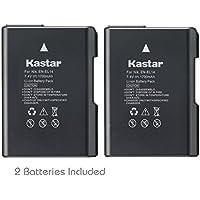 Kastar Battery (2-Pack) for Nikon EN-EL14, EN-EL14a, MH-24 and Coolpix P7000, P7100, P7700, P7800, D3100 DSLR, D3200 DSLR, D3300 DSLR, D5100 DSLR, D5200 DSLR, D5300, D5500 DSLR, Df DSLR Cameras