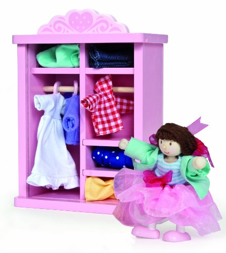 [Le Toy Van Dressing Up Wardrobe for Dollhouses] (Group Dressing Up Ideas)