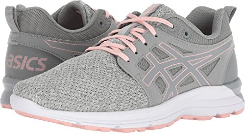 ASICS 1022A049 Women's Torrance Running Shoe, Stone Grey/Frosted Rose - 11.5
