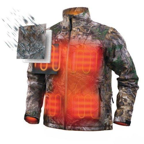 Size M Milwaukee 0002410/Jacket Heated Camo