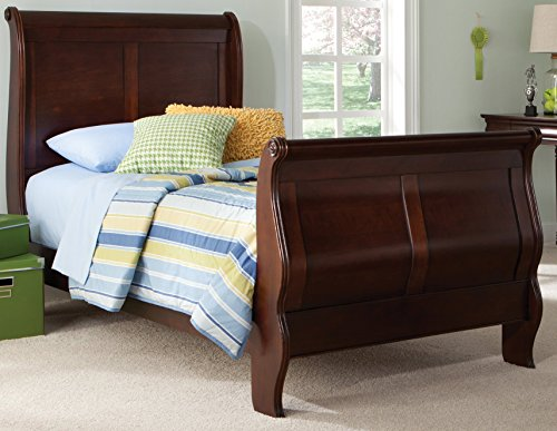 Liberty Furniture 709-YBR-TSL Carriage Court Twin Sleigh Bed, 42