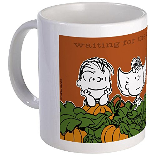 CafePress Halloween In The Pumpkin Patch Mug Unique Coffee Mug, Coffee Cup -