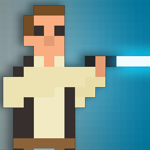 Galactic Pixel Wars - The Farce Awakens - 8bit battle Combat - Bit Laser 8