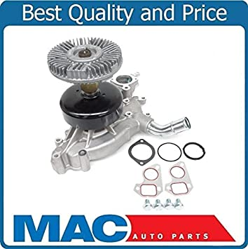 Fits For 99-06 Chevrolet Silverado 1500 100/% New Tested Water Pump /& Fan Clutch