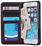 Everything Imported Real Denim Pocket Style Slim Iphone 6, Iphone 6S Flip Cover With Magnetic Lock