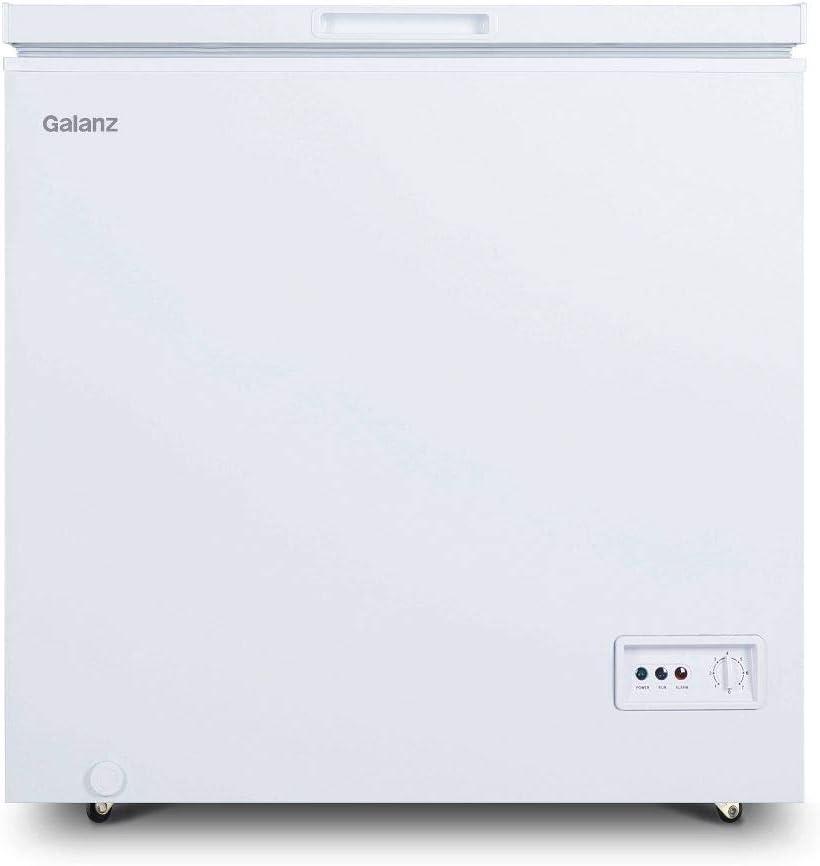 Galanz GLF50CWED01 Chest Freezer, White