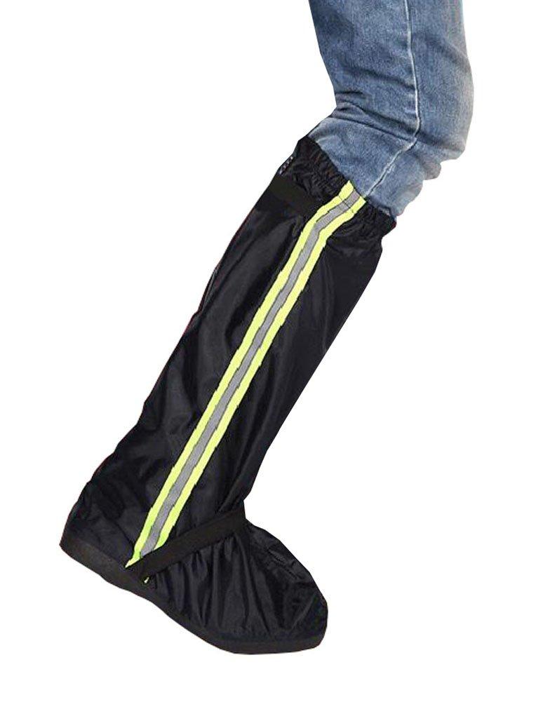 Negro Cubrezapatos cargador de lluvia impermeables Black Temptation