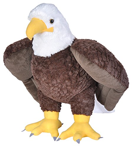 Eagle Teddy Bear - Wild Republic Jumbo Bald Eagle Plush, Giant Stuffed Animal, Plush Toy, Gifts for Kids, 30 Inches