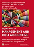 Management and Cost Accounting Professional Questions