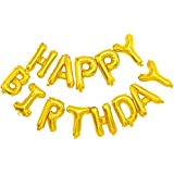 ONEPENG Happy Birthday Balloons,Aluminum Foil Banner Balloons for Birthday Party Decorations and Supplies Anniversary…