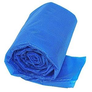 Gre CPERT53 – Cubierta de Verano para Piscina Enterrada Rectangular de 500 x 300 cm, Color Azul