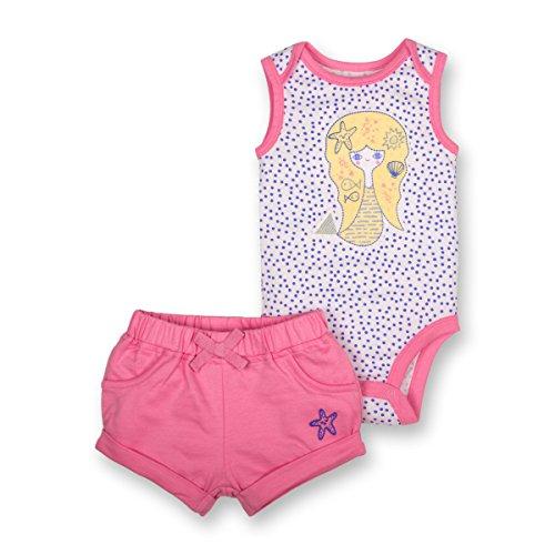 LAMAZE Organic Baby/Toddler Girl, Boy, Unisex Outfits, Gift Sets, Pink, 3M