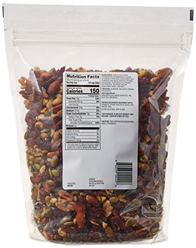 Amazon Brand - Happy Belly Dried Cranberries, Nuts & Pepitas Trail Mix, 42 ounce by Happy Belly (Image #4)