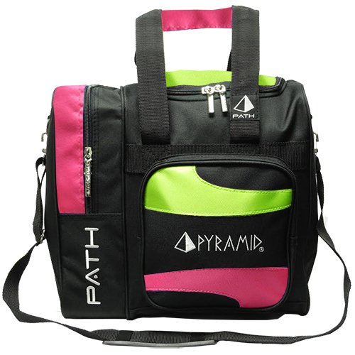 Pyramid Path Deluxe Single Tote - Hot Pink/Lime Green for sale  Delivered anywhere in USA