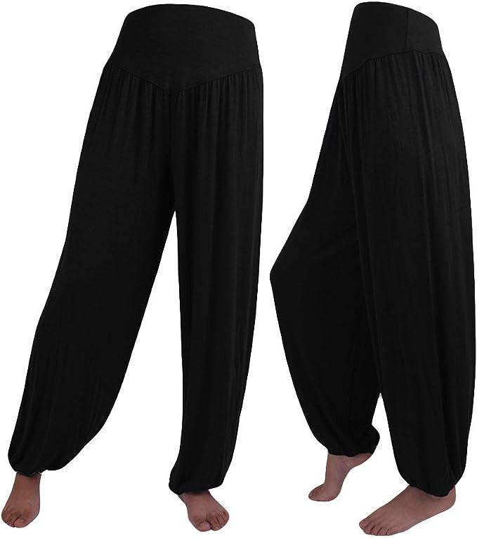 Amazon.com: Womens Harem Yoga Pants for Women Plus Size ...