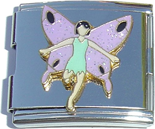 Mega Light Blue Dress Fairy Italian Charm