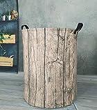 KUNRO Large Sized Round Storage Basket Waterproof