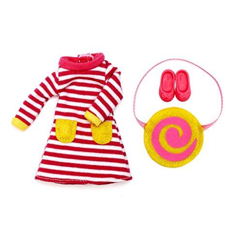LOTTIE RASPBERRY RIPPLE CLOTHING SET 의 인형 복장|3 세 이상 어린이를위한 최고의 재미있는 선물