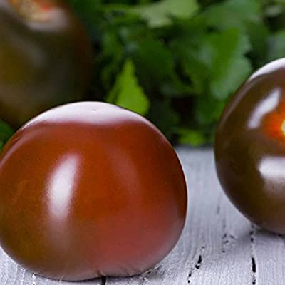 Tomato Garden Seeds - Black Cherry - Non-GMO, Organic Vegetable Gardening Seed