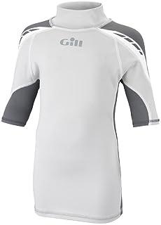 Gill Junior UV Sport Ash Vest S/S Silver Grey/Ash 4421J