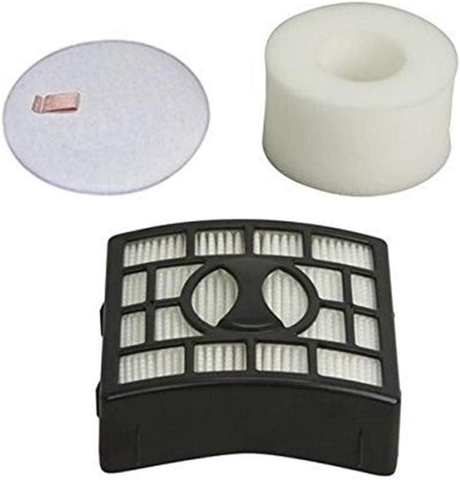 Eztronics CorpHEPA Filter + 1 Foam & Felt Filters Kits for Shark Rotator Lift-Away Vacuum Cleaner NV600, NV680, NV770, NV800, NV803, UV810, Compares to # XFF680 & XHF680