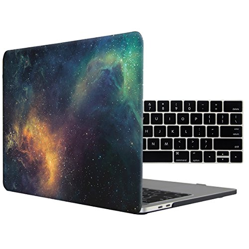 Ford Logo Cut Out - Tojia Macbook Pro 13 Case 2016,Galaxy Space Hard Cover with Keyboard Skin ford Macbook Pro 13.3 Inch with Touch Bar Touch ID Model:A1706