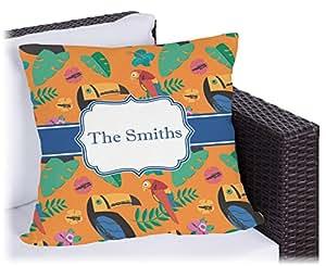 Tucanes al aire libre almohada (personalizado)