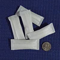 "Silica Gel Desiccants - 1 3/8"" x 2 5/8"" - 5 Grams - 5 Packets of Silica Gel by Dry-Packs"
