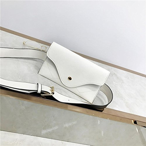 Beige Color Evening Envelope Pocciol Clutch Women Messenger Handbags Leather Pure Elegant Splice Wallet Black anZZOwptq