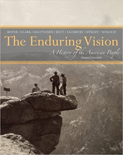 chapter 3 outline of the enduring vision The enduring vision, vol 1: boyer chapter 2 outline , ord e clark, joseph f kett, neal salisbury, harvard sitkoff the enduring vision a history of the american people, dolphin edition, volume ii since 1865 2008[1.