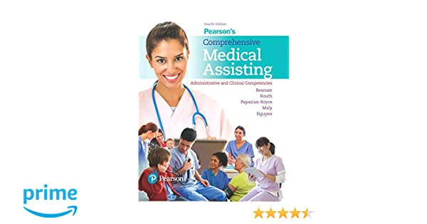 Pearsons comprehensive medical assisting administrative and pearsons comprehensive medical assisting administrative and clinical competencies 4th edition 9780134420202 medicine health science books amazon fandeluxe Gallery