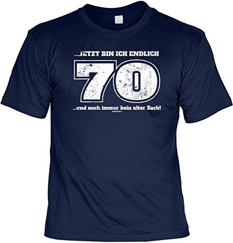 Tshirt Endlich 70 Noch Immer Kein Alter Sack Lustiges Sprüche Shirt